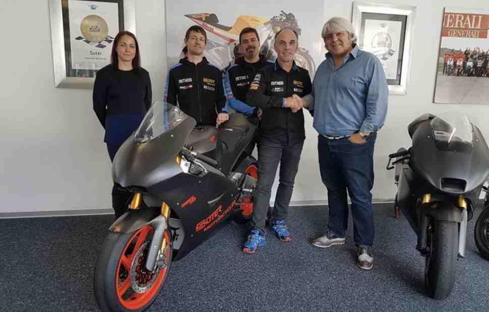 Suter остается в Moto2: в последний момент заключен контракт с Forward Racing