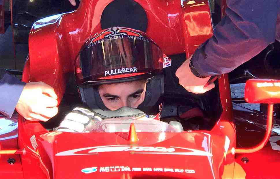 4-кратный чемпион MotoGP Марк Маркес сел за руль болида Формулы-3
