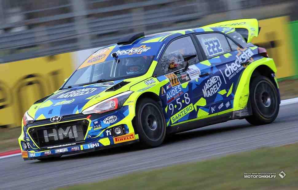 Антонио Кайроли обходит Валентино Росси в прологе Monza Rally 2017