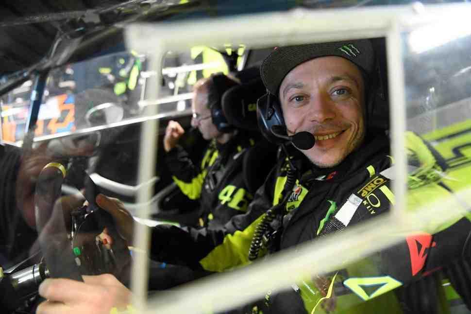 Валентино Росси - о победе в Rally Monza Show 2017