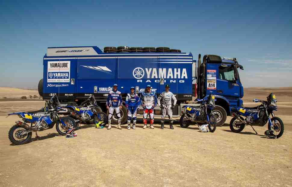 Yamaha ставит высокие цели на Дакар-2018 с новым WR450F Rally
