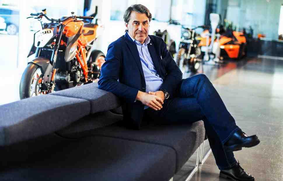 KTM подводит итоги пятилетки: план выполнен! Новый - 400000 мотоциклов в год
