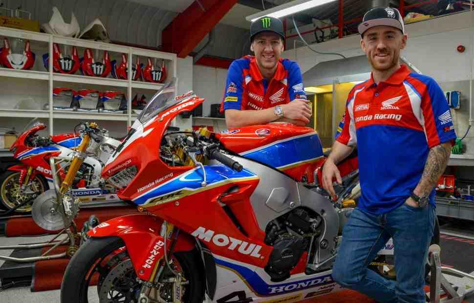 Honda Racing представила официальный состав команды для Isle of Man TT 2018