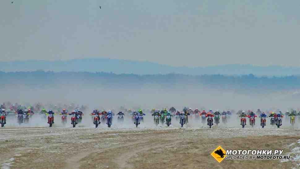 Пляжный мотокросс: Kawasaki лидирует в новой французской серии гонок на пути к Le Touquet