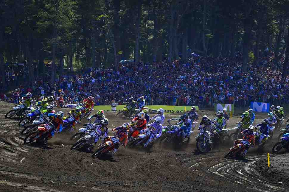 Команды Чемпионата Мира по мотокроссу MXGP/MX2 - 40 заявок