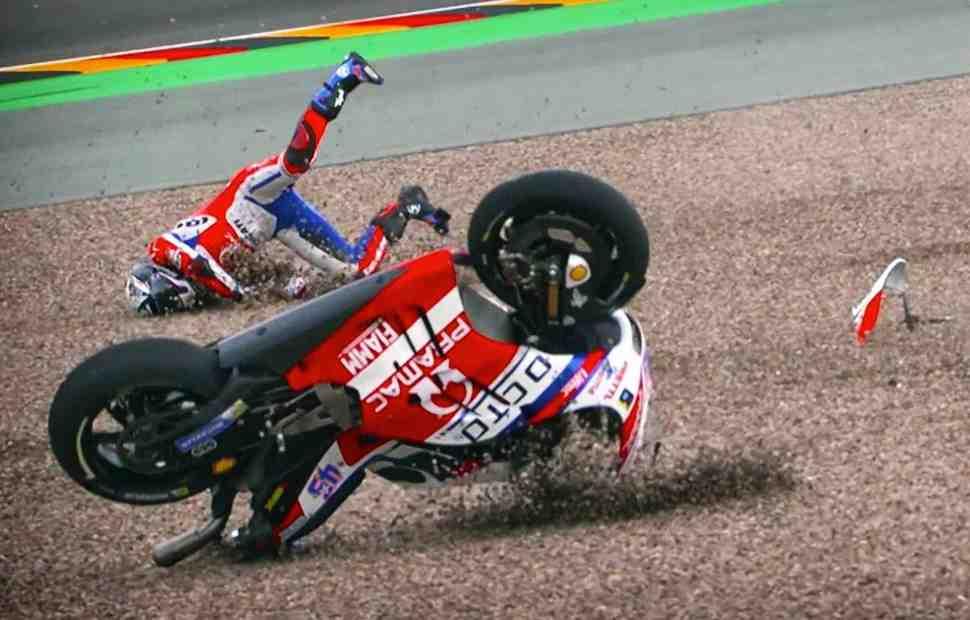 Свет, камера... Action! Лучшая подборка падений MotoGP 2017 года