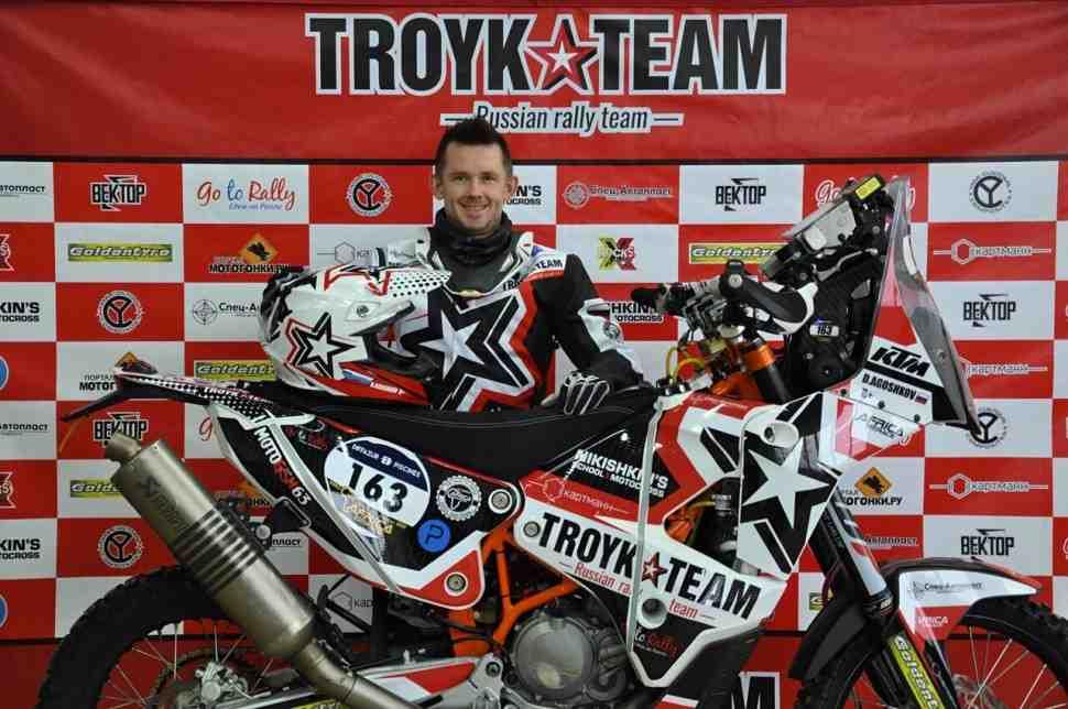 Дмитрий Агошков накануне Africa Eco Race 2018