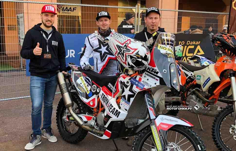 Дмитрий Агошков в тройке лидеров после пролога Africa Eco Race 2018