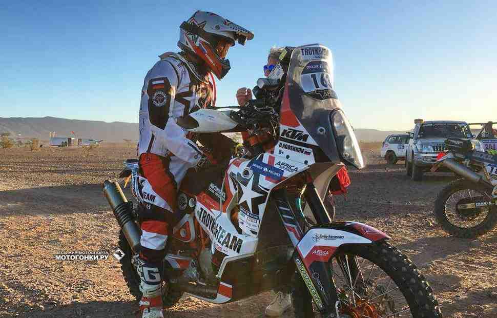 Africa Eco Race: СУ2 - Первые трудности для Агошкова