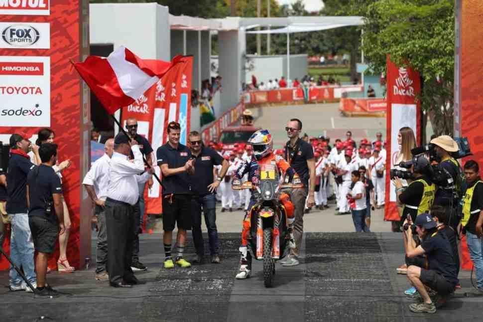 Пролог ралли Дакар-2018 выиграл действующий чемпион Сэм Сандерленд