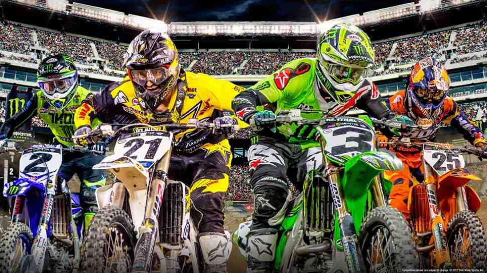 AMA Supercross: Полные видео Anaheim-1 - 250SX и 450SX