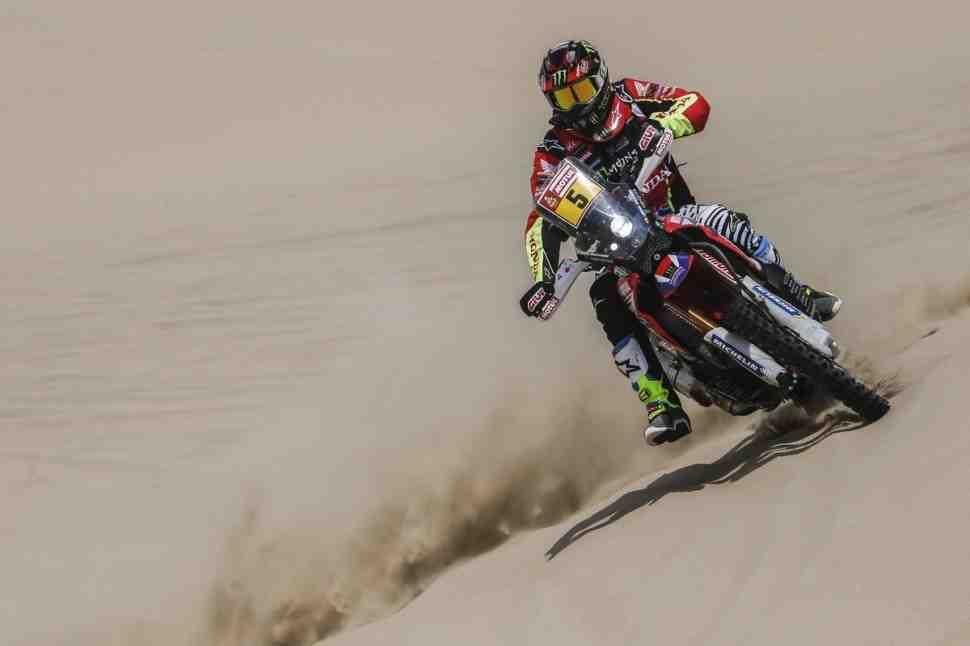 Хуан Барреда принес Honda первую победу на Дакар-2018; Карякин 2-й в классе QUAD