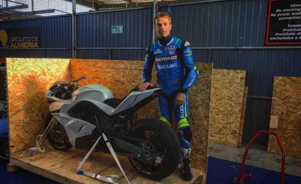 e-MotoGP: Сильвейна Гуинтоли привлекли к испытаниям прототипа для Moto-e