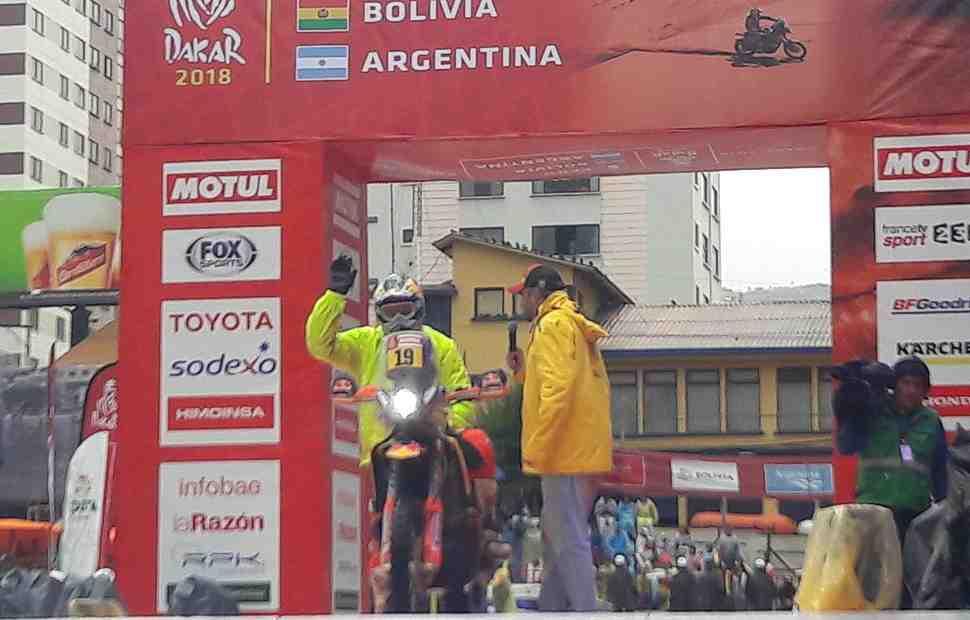 Дакар-2018: Мео выиграл СУ6, а Беньявидес вывел Honda в лидеры класса MOTO