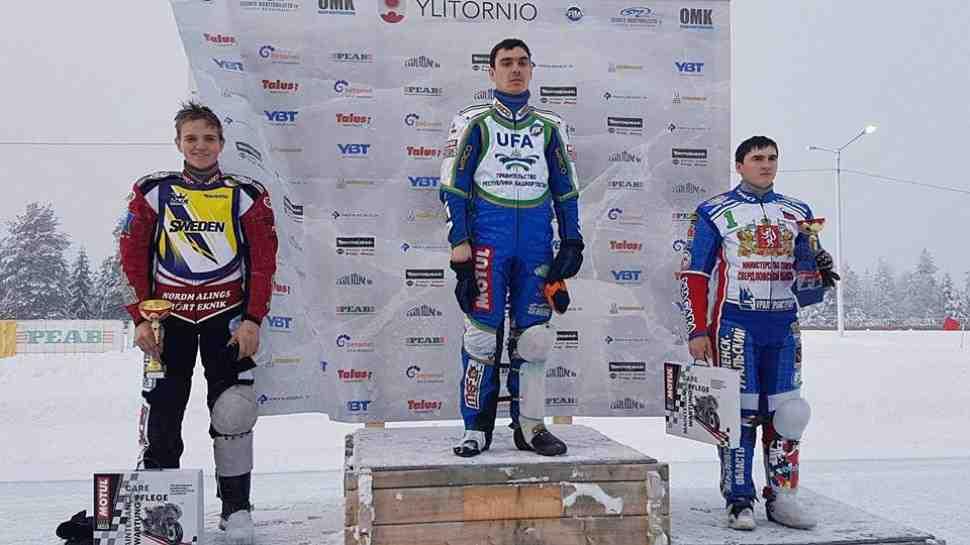 Хомицевич и Карачинцев выиграли квалификации FIM Ice Speedway Gladiators 2018
