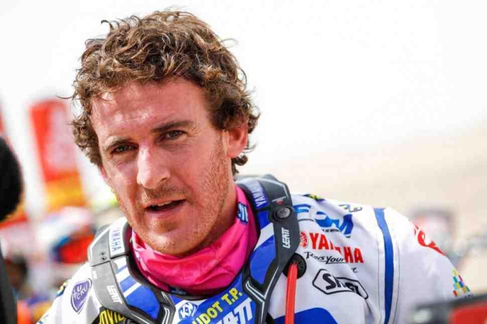 Гонщик заводской команды Yamaha Ксавье Де Султре выбыл из Дакар-2018 с травмой