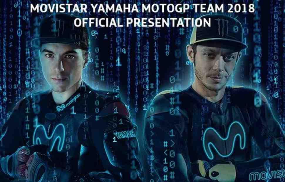 Yamaha Factory Racing представит свою команду MotoGP 24 января