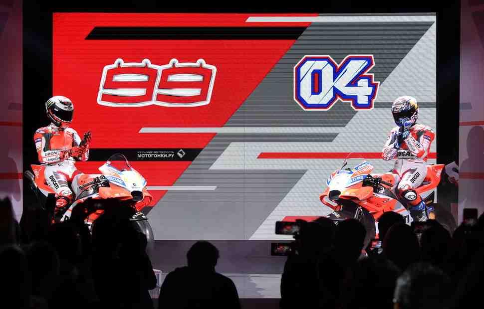 MotoGP: Видео и фото с презентации Ducati Factory Desmosedici GP18