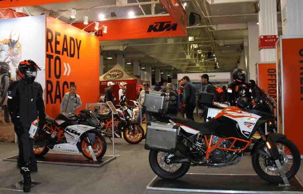 Мотоциклы KTM подорожали в 2018 году