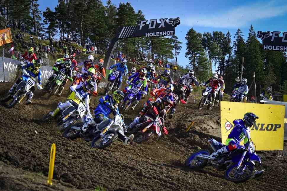 Мотокросс MXGP: Гран-При Швеции отменен вместе с EMX125 и EMX250