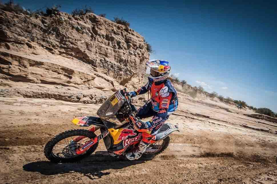 KTM возвращает контроль над ралли Дакар-2018