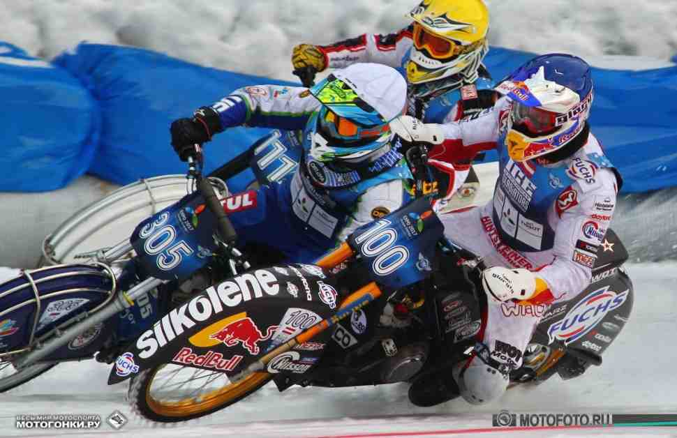 Список участников первого финала FIM Ice Speedway Gladiators в Астане