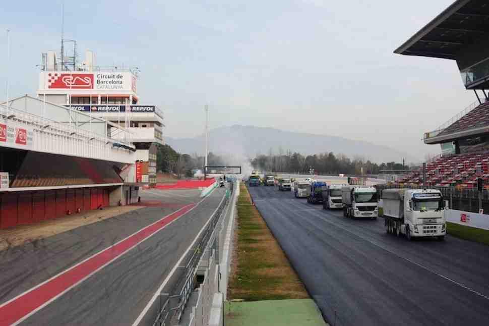 Гоночные трассы активно меняют асфальт в преддверии сезона MotoGP 2018 года