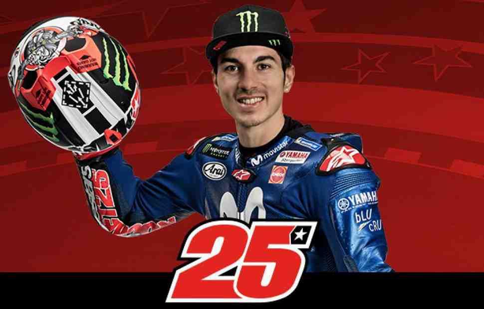 Официально: Маверик Виньялес - первый утвержденный пилот MotoGP в 2019 и 2020 году
