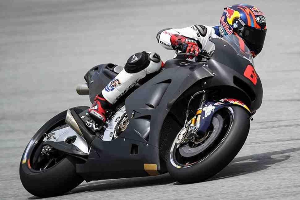 MotoGP: Honda пробует большие винглеты; Стоунер покинул тесты из-за дождей