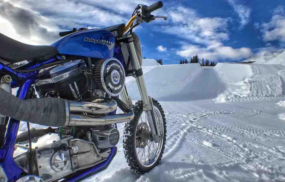 Harley-Davidson Snow Hill Climb - новое зимнее соревнование по подъему на холм в рамках X-Games