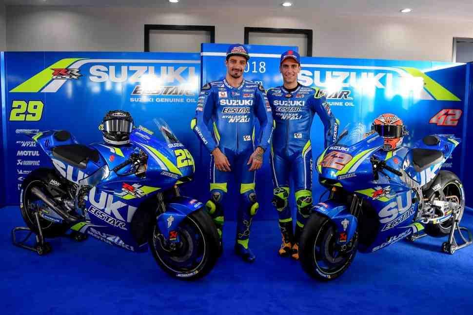 Прототипы MotoGP: Suzuki GSX-RR (2018) в деталях - фотографии и характеристики