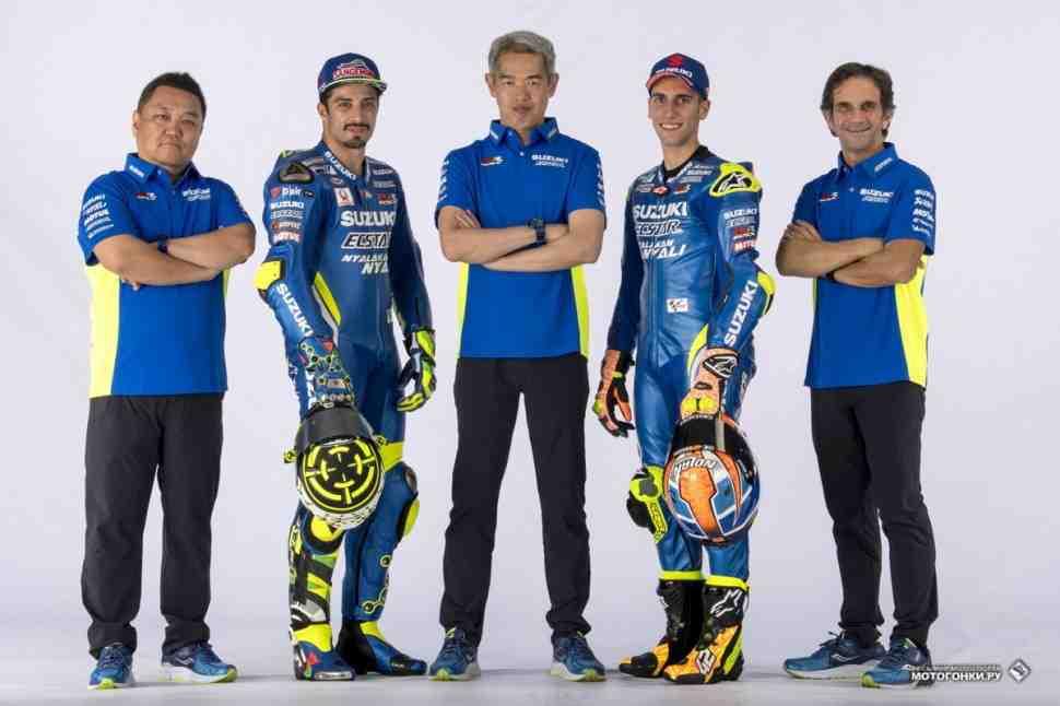 MotoGP: Suzuki GSX-RR вернул былой баланс ради новой цели - места в TOP-5 по итогам 2018 года