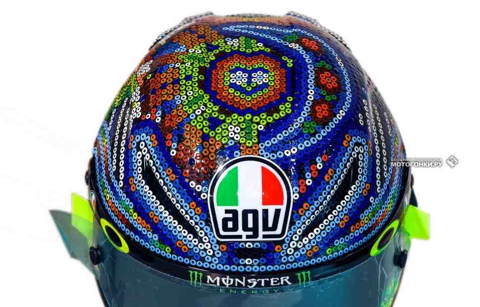 Неделя парадных шлемов: AGV, Shark, SHOEI, ARAI и Suomy лидеров MotoGP для тестов в Сепанге