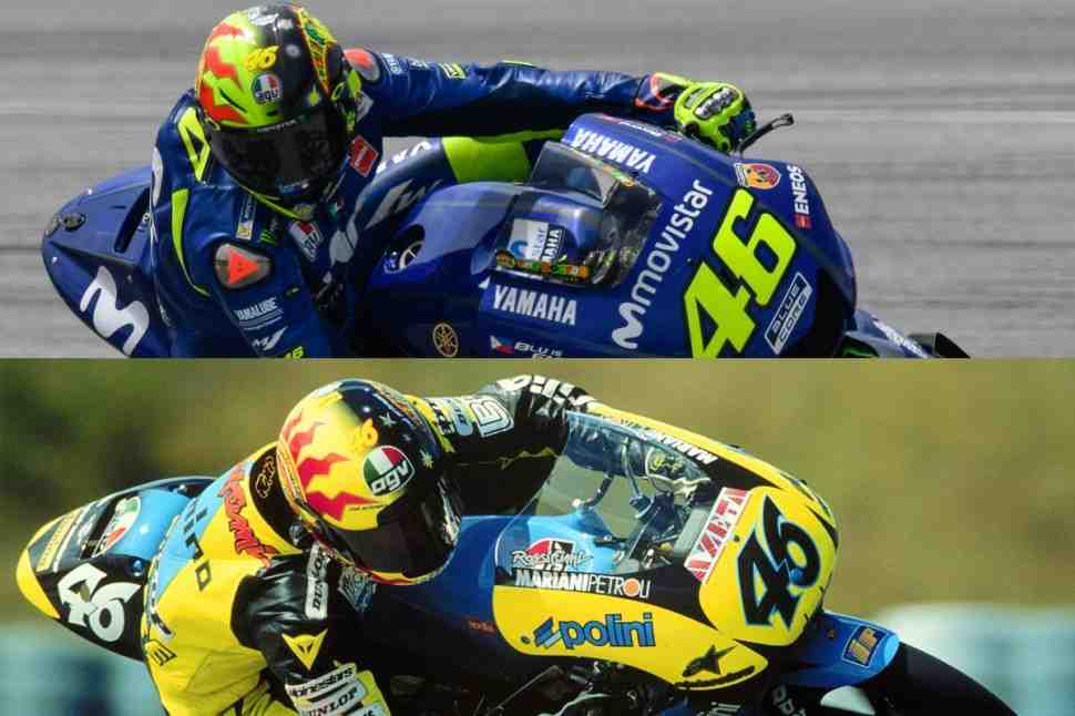 MotoGP: Валентино Росси надел шлем, посвященный 20-летию своей карьеры