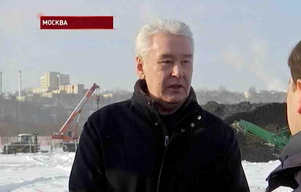 Видео: мэр Москвы Сергей Собянин побывал на стройплощадке Moscow Motorsport Park