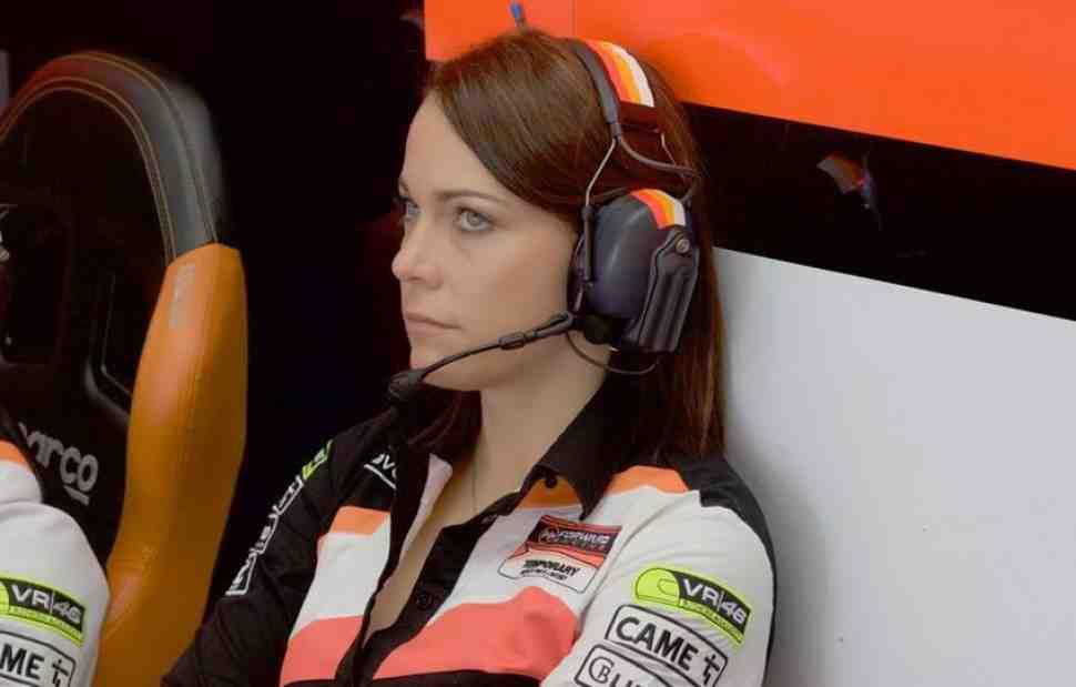 Милена Кёрнер: путь от grid girl до менеджера команды MotoGP прошла за 10 лет