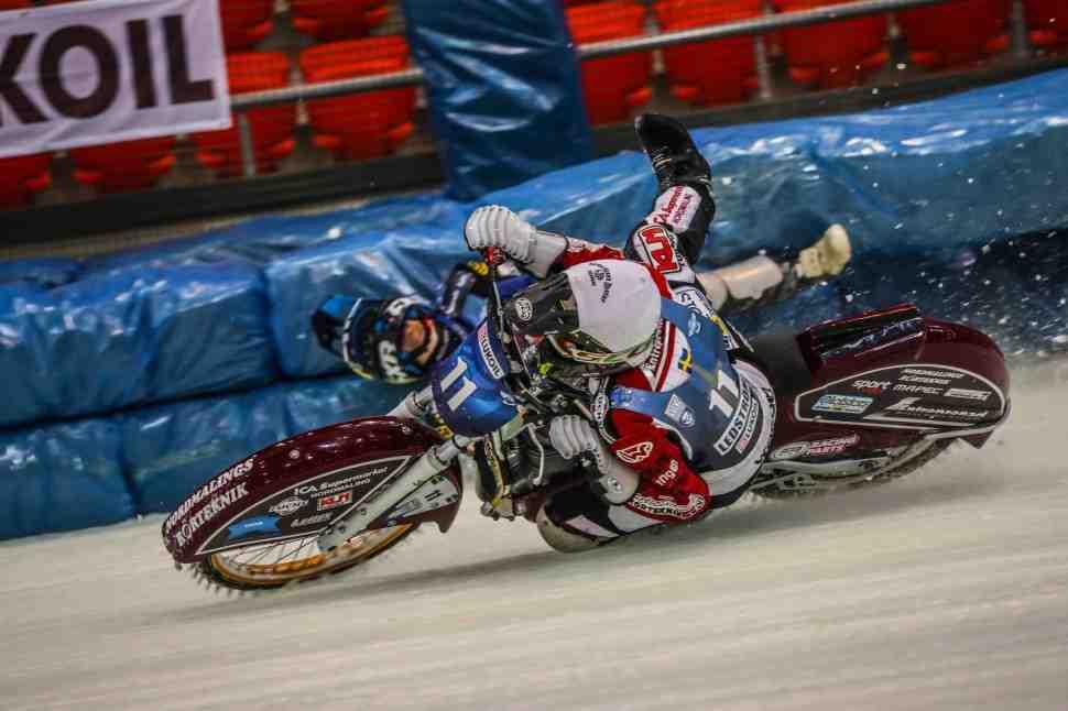 Результаты 2-го дня 1 финала FIM Ice Speedway Gladiators, Астана
