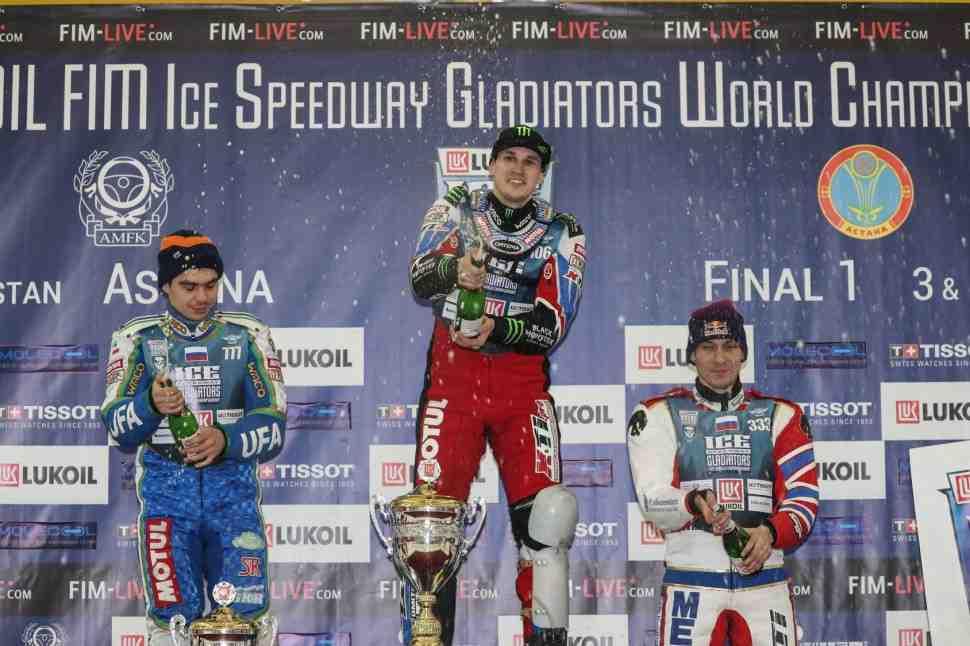 FIM Ice Speedway Gladiators: Чемпион мира начинает сезон-2018 двойной победой