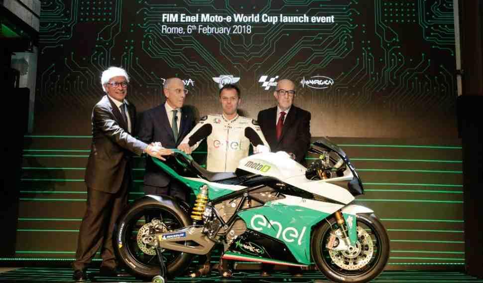 Подробности: Кубок мира MotoE разыграют в рамках пяти избранных этапов MotoGP