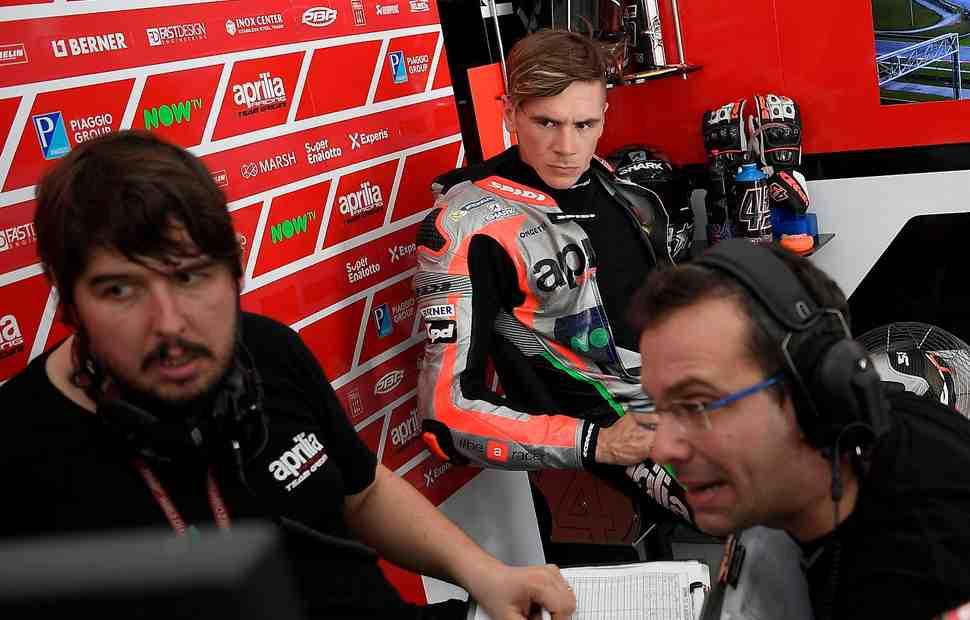 MotoGP: Скотт Реддинг обживается в Aprilia Racing