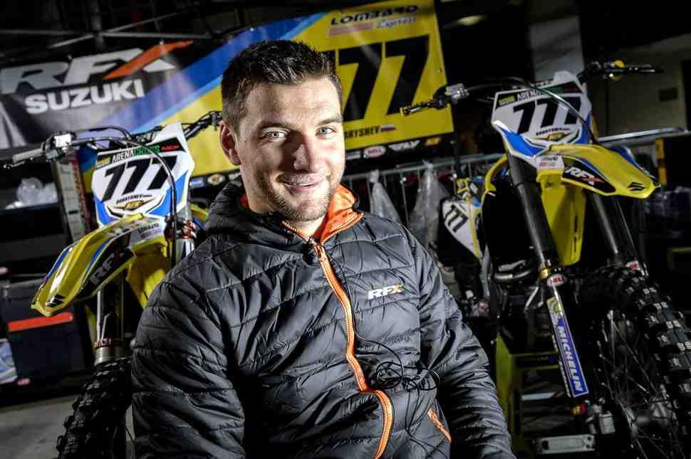 Мотокросс: Бобрышев - гонка в Hawkstone была важна, чтобы понять мотоцикл
