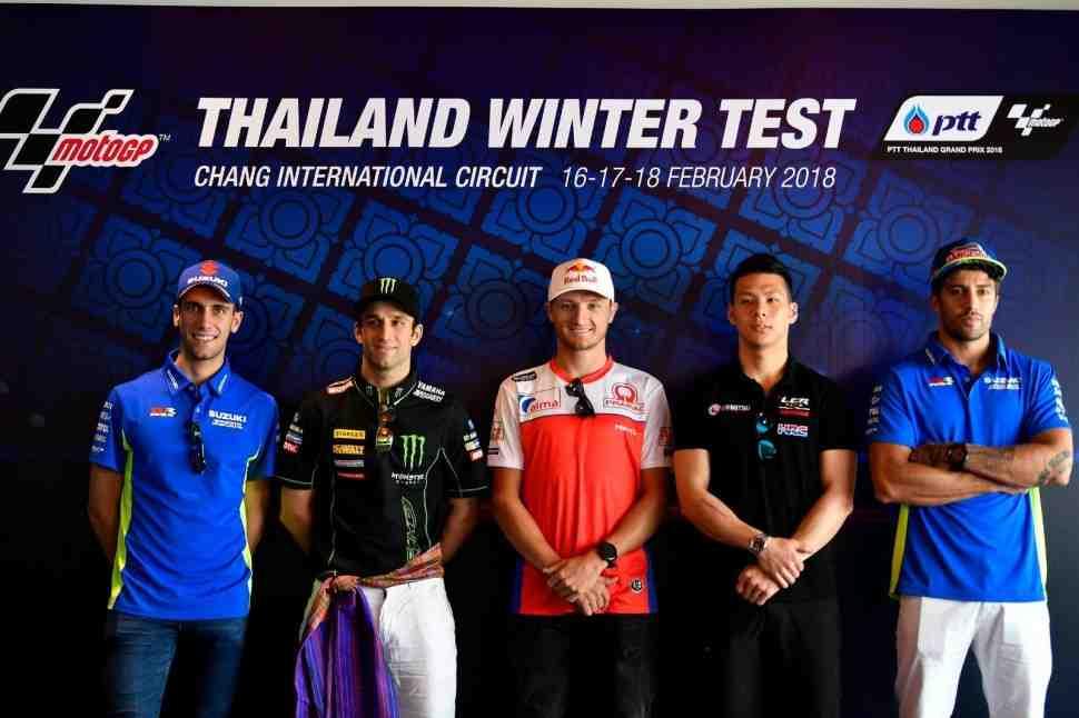 Тесты MotoGP в Тайланде могут собрать большую аудиторию