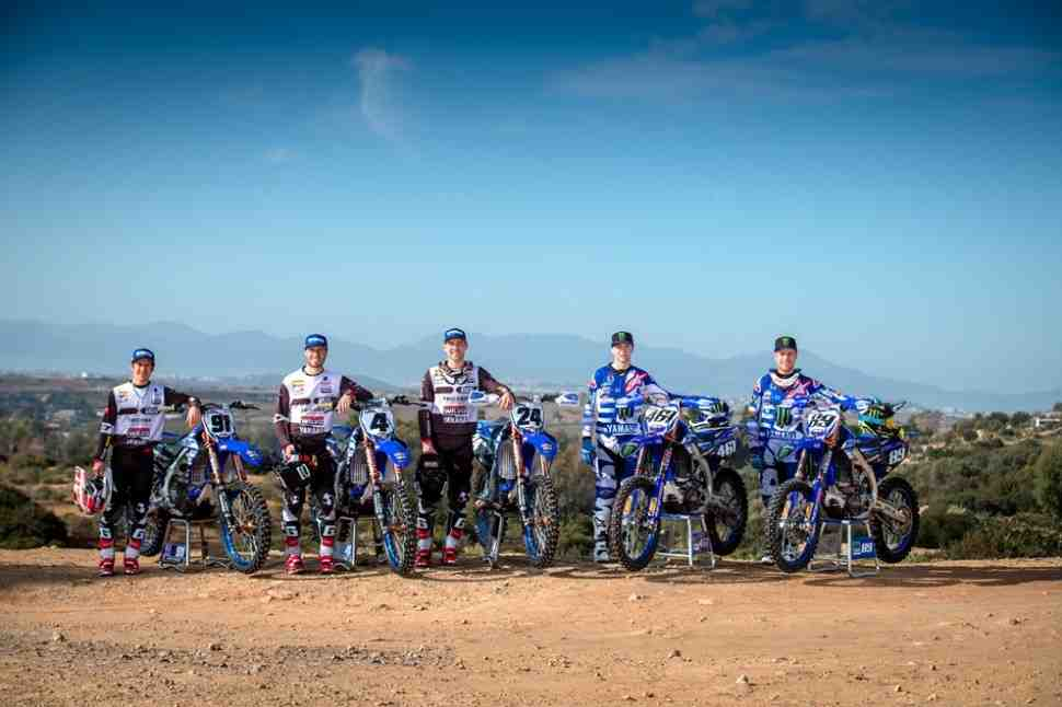 Мотокросс : Yamaha представила составы заводских команд в MXGP, MX2, WMX и Чемпионате Европы
