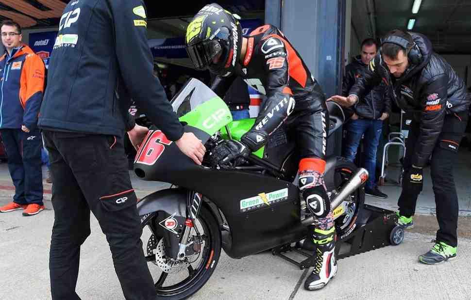 Итоги тестов в Хересе: Макар Юрченко обошел напарника по CIP Moto3