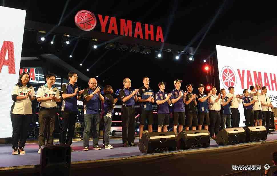 Yamaha Racing представила гоночные проекты MotoGP, WorldSBK, EWC и AJSBK