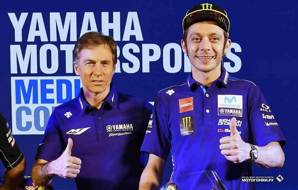 Лин Джарвис: насколько Валентино Росси близок к продлению контракта с Yamaha MotoGP