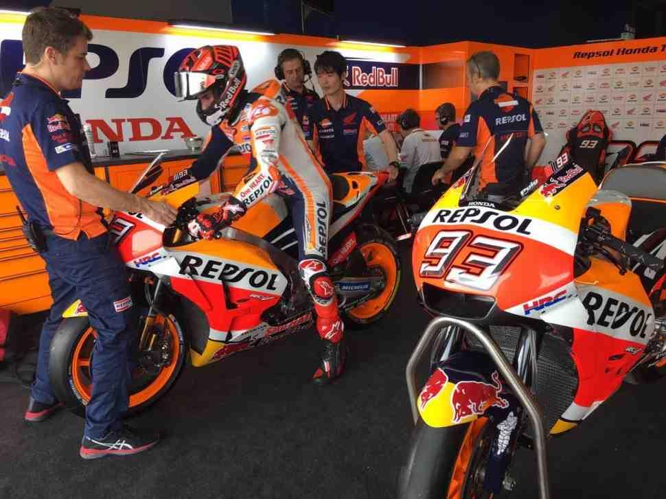 Первый отчет ThaiTest: Пилоты MotoGP осваивают Chang International Circuit