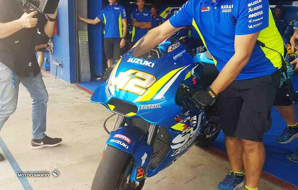 MotoGP: Suzuki показала на ThaiTest модульный дизайн обтекателей в стиле Ducati