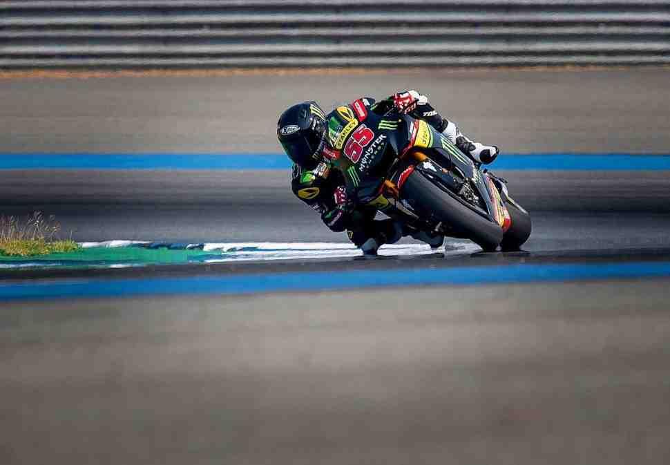 Хафиж Сиахрин обошел другого дебютанта MotoGP на ThaiTest в Бурираме