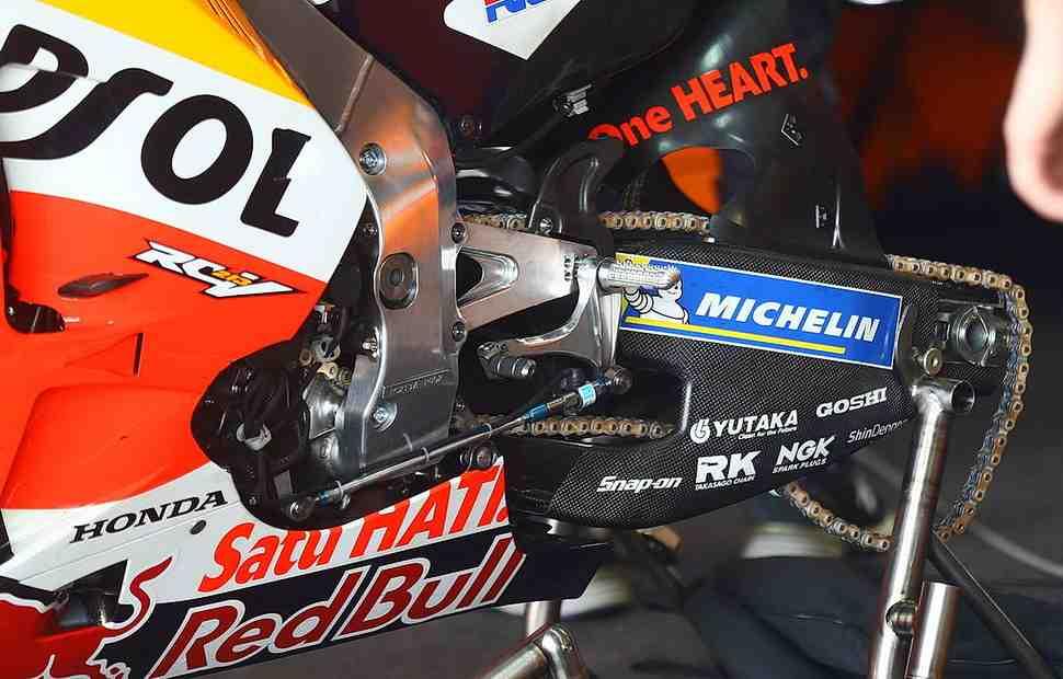 MotoGP ThaiTest: Honda RC213V получит карбоновый маятник?